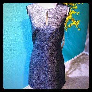 NWT DVF Yvette metallic dress 8